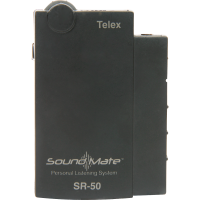 Telex SR-50 Channel # G Frequency # 72.7 SoundMate Single Channel Receiver