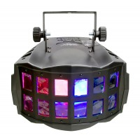Chauvet Double Derby X Alternate Effects With Continuous Rotation