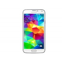 Samsung Galaxy S5 / SM-G900H Shimmery White Unlocked GSM Mobile Phone
